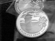 2009 S SILVER PUERTO RICO  QUARTER FROM SILVER PROOF SET