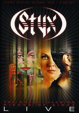 Styx: The Grand Illusion/Pieces of Eight - Live [3 Discs] [DVD/2 CDs] (DVD New)