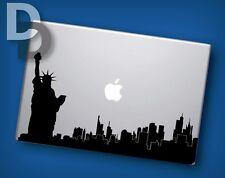 New York Silhouette Macbook decal / Vinyl Laptop sticker / City Decal Stencil