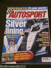 AUTOSPORT - MUD FLIES AMID SILVERSTONE CONFUSION - APRIL 27 2001