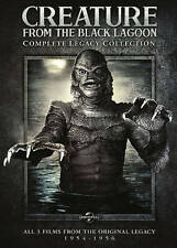 CREATURE FROM THE BLACK LAGOON: COMPLETE LEGACY COLLECTION ALL 3 FILMS 1954-1956