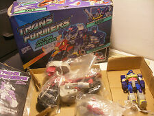 hasbro takara 1990 transformers G1 ACTION MASTERS AXER Complete in box