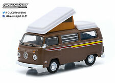 2015 GreenLight 1:64 *BROWN* 1972 VW Volkswagen Type 2 Campmobile Camper *NIP*