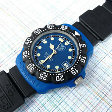 TAG Heuer Midsize Royal Blue Dial, Formula 1  381.513/1 New Strap, Bezel, Glass