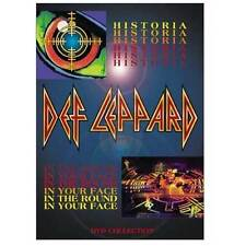 Def Leppard - Historia / In The Round In Your Face DVD Region 2 and 4
