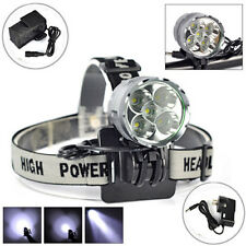 8000 Lumen CREE 5x XM-L T6 LED HeadLight Headlamp Bicycle Bike Light Head Lamp
