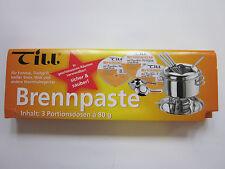WMF Till Brennpaste 3er-Set à 80 g Fondue, Tischgrill, Wok, heißer Stein