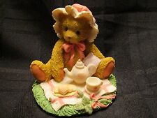 Cherished Teddies MARIE FRIENDSHIP IS A SPECIAL TREAT Bear w Tea Set 1992 w Box