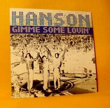 Cardsleeve Single CD HANSON Gimme Some Lovin' 2TR 1998 Soft Rock
