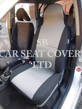 TO FIT A TOYOTA STARLET, CAR SEAT COVERS, TITANIUM GREY FABRIC 2 FRONTS