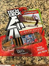 TECH Deck TD Gold Coast Longboard   Finger boards Skateboards  X Concepts NEW