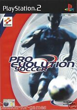 PRO EVOLUTION SOCCER PES for Playstation 2 PS2 - with box & manual - PAL