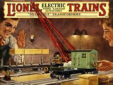 PRINT POSTER ADVERT TOY TRAIN COLLECTOR RAIL LOCOMOTIVE ELECTRIC MODEL NOFL0811