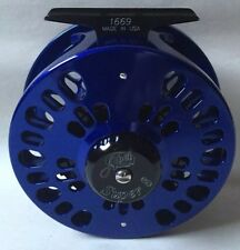 Abel Fly Reel Super 8 Large Arbor  Blue III - New!