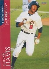 2016 Brevard County Manatees Johnny Davis RC Rookie Brewers