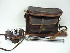 Vintage Leica Ernst Leitz Wetzlar 35mm Camera, Made in Germany with Accessories