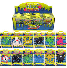 STICKY STRETCHY MONSTER ALIEN CREATURES ~ PARTY BAGS & STOCKING FILLERS