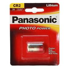 10 PILAS PANASONIC CR2 3V LITIO CAMARA FOTO CR-2-1BP LITIUM BATTERY