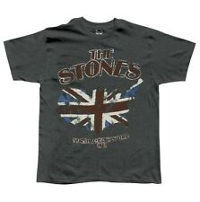 New Rolling Stones North American 1981 Concert Tour Reproduction Gray T-Shirt M