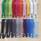 Hot 25CM Zippers for purse or Bags manufacture Stars Lace 19 Colors