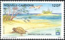 New Caledonia 1993 Turtle/Bird/Nature/Beach/Lagoon Conservation 1v (n31053)