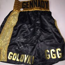 Gennady GGG Golovkin Autographed Boxing Trunks with Fight Plaza COA