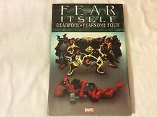 MARVEL Fear Itself Deadpool Fearsome Four Hard Cover Trade Paperback