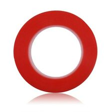 5m Length Double Sided Tape Red Self Adhesive Sticky Super Strong NEW 6mm