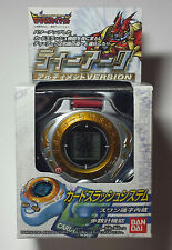 Rare Japanese Bandai Digimon Digivice Ultimate D-Ark D-Power Gold Version New