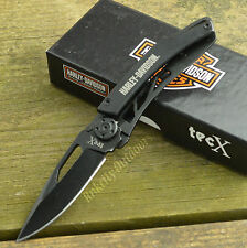 Case XX TEC X Dinero Harley Davidson Money Clip Folding Knife 52080