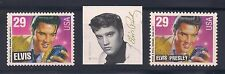ELVIS PRESLEY - COMPLETE SET OF ALL 3 U.S. POSTAGE STAMPS - MINT CONDITION