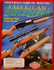 Vintage Magazine American Rifleman, MAY 1993 !!! SAKO Model TRG-S RIFLE !!!