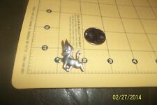 ART DECO Mexico Silver Sterling 925 PRANCING DONKEY ANIMAL PIN BROOCH 1930s