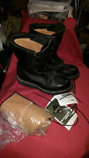 BATES, BOOTS COLD WEATHER GORETEX,W/INSERTS, BLACK,SIZE 5 EX-WIDE,NEW WITH TAGS.