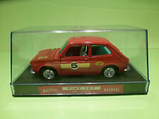 NACORAL 3512/M FIAT 127 RALLY - RED  1:25 - NM IN SHOW CASE