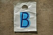 * Vintage Burton menswear plastic carrier bag 1 (small) *