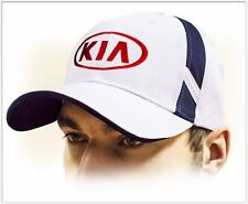 KIA unisex Baseball Cap Hat. 100% cotton. White color. Adjustable size!!!