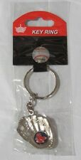 NIB MLB GLOVE KEY CHAIN - BOSTON RED SOX - SOX LOGO