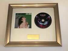 PERSONALLY SIGNED/AUTOGRAPHED BAT FOR LASHES - THE BRIDE FRAMED CD PRESENTATION