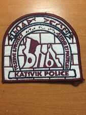 PATCH POLICE CANADA TRIBAL - KATIVIK ( QUEBEC ) - ORIGINAL!
