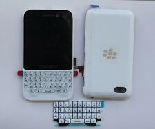 New Full Housing LCD Display /battery cover/frame/Keypad For Blackberry Q5 White