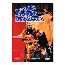 The Texas Chainsaw Massacre II (1986) DVD - Tobe Hooper (*New *All Region)