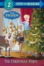 The Christmas Party (Disney Frozen) (Step into Reading)-ExLibrary