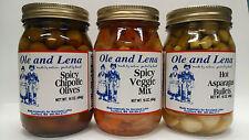 Ole & Lena Pickled Preserves (3 - Pack Variety)
