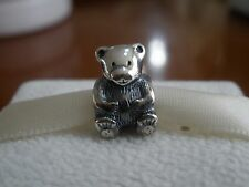 Genuine Authentic Pandora Sterling Silver 925ALE Teddy Bear Bead/Charm