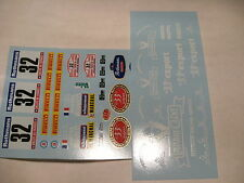 decals decalcomanie   renault r5 turbo tour de corse n32 1984  1/18