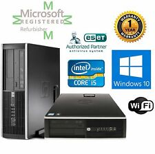 HP ELITE 8200 i5 3.10GHZ WINDOWS 10  Pro 8GB RAM 1TB HHD DESKTOP COMPUTER Wifi