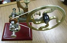 Antique Jeweler's Topping Tool, Gear Wheel Cutting Machine Circa 1860