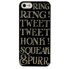 NEW EMMA BRIDGEWATER BLACK TOAST HARD SHELL CASE COVER FOR IPHONE 5 5S SE
