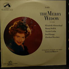 SAN 101-2 Lehar The Merry Widow / Schwarzkopf, etc. / Matacic 2 LP set White ...